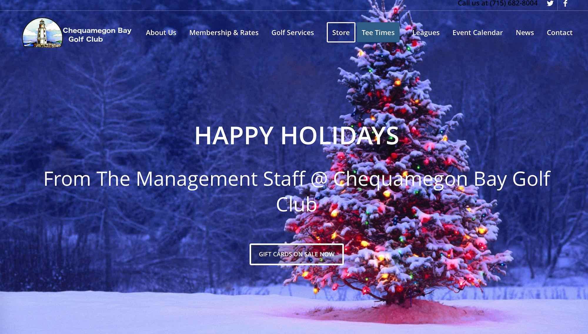 Top 6 Christmas Websites for Teesnap 2016 - Teesnap