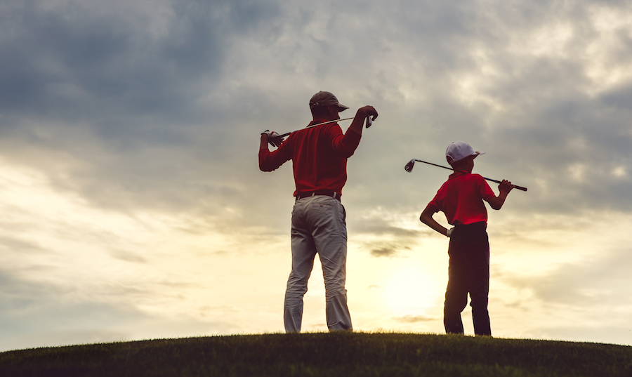 Golf Gift cards on Fathers Day